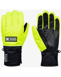 DC Shoes Snowboard/ski Gloves - Yellow