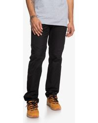 DC Shoes Straight Fit Jeans - Black