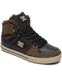 DC Shoes - Winterized High-top Boots - Lyst