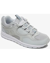 DC Shoes Leather Shoes - Gray