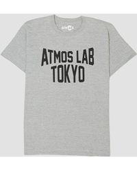 Atmos Lab - Tokyo City T-shirt Grey - Lyst
