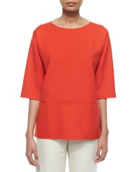 Shamask Double-Face Seamed Tunic - Lyst