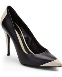 Narciso Rodriguez Black  Beige Two-tone Pumps - Lyst