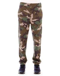 Valentino Relaxed-fit Camouflage-printed Sweatpants - Lyst