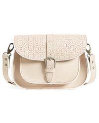 Maison Scotch - Perforated Shoulder Bag - Lyst