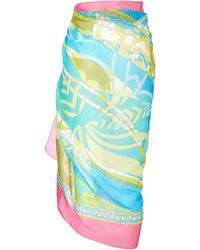 Emilio Pucci Cotton Sarong - Lyst