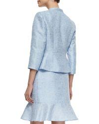 Kay Unger - Tweed Jacket W/ Matching Skirt - Lyst