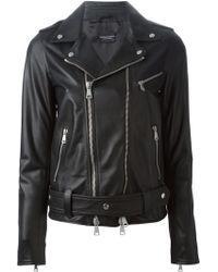 Marcelo Burlon Biker Jacket - Lyst
