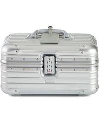 Rimowa - Topas Silver Beauty Case - Lyst