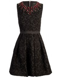 Needle & Thread Needle Ampampampampamp Thread Jacquard Jewel Dress - Lyst