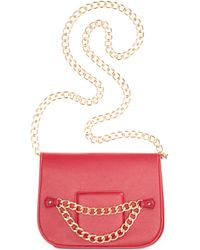 Rampage Crossbody with Chain Strap - Lyst