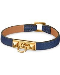 Hermes Blue Micro Rivale - Lyst