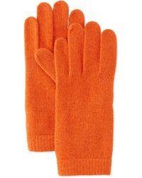 Portolano Cashmere Basic Knit Gloves - Lyst