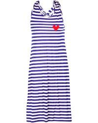 Sonia by Sonia Rykiel Heart Stripe Tank Dress - Lyst