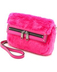 Milly Skylar Mini Bag Fuschia - Lyst