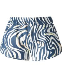 DROMe - Printed A-line Shorts - Lyst