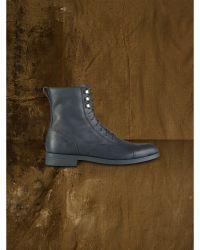 Ralph Lauren Leather Sedona Boot - Lyst