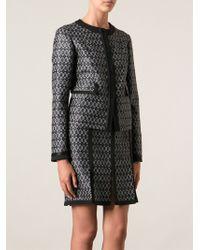 Etro Jacquard Skirt Suit - Lyst