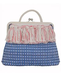 Clare V. Franc Woven Bag - Lyst