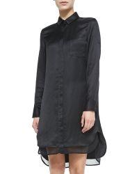 Rag & Bone The Shirtdress with Double-layer Hem - Lyst