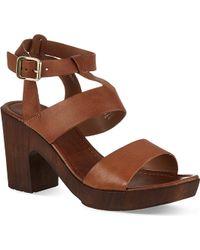 Carvela Kurt Geiger Kolt Platform Sandals - For Women - Lyst