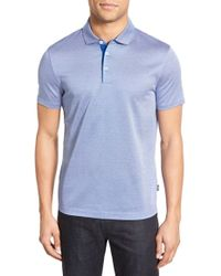 BOSS | Place Slim-Fit Polo Shirt | Lyst
