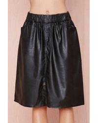 Nasty Gal Cheap Monday Flexible Skirt - Lyst
