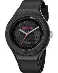 Reebok Women's Warm Up Camo Black Polyurethane Strap Watch 38mm Rf-twc-l2-pbpb-bp