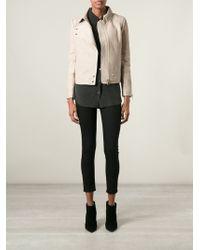 J Brand Leather Jacket - Lyst