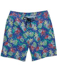 Brooks Brothers Red Fleece - Pineapple Swim Trunks - Lyst