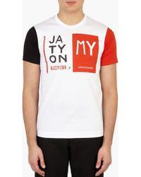 Comme des Garçons   Printed Cotton T-shirt   Lyst