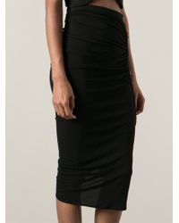 Givenchy Ruched Skirt - Lyst