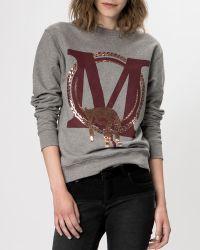 Maje Sweater Gareth - Lyst