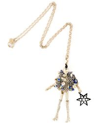 Servane Gaxotte - Doll Pendant Necklace - Lyst