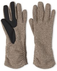 Fownes Touchpoint Sweater Knit Gloves - Natural