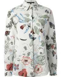 Gucci 'Flora' By Kris Knight Classic Shirt - Lyst