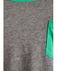 Palmer Cash - You've Got It Badminton Top In Grey - Lyst