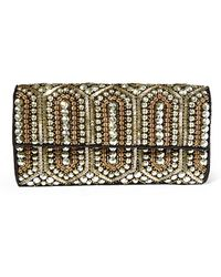 Steven by Steve Madden - Embellished Sequin Clutch - Lyst