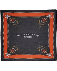 Givenchy Square Scarf 120Cm X 120Cm Rottweiler - Lyst