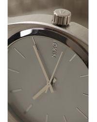 Nixon Silver Time Teller Watch - Lyst