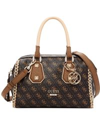 Guess Confidential Chain Small Frame Satchel - Lyst