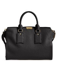 Burberry 'Large Gainsborough' Leather Tote - Lyst
