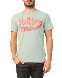 Hilfiger Denim Short Sleeve T-Shirt - 1957865592 033 Federer 1 Cn Tee S/S - Lyst