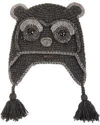 BCBGMAXAZRIA Panda Heidi Hat - Lyst