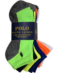 Polo Ralph Lauren Classic Ped Sock Set - Lyst