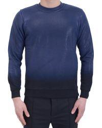 Diesel Black Gold Sah-Sweatshirt blue - Lyst