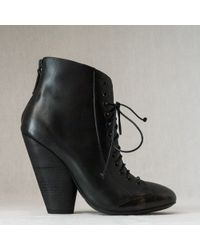 Marsell Victorian Lace Up Boot - Lyst