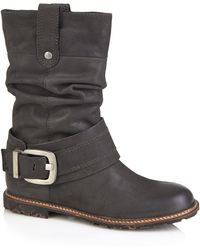Cara London - Slouchy Mid Boot - Lyst