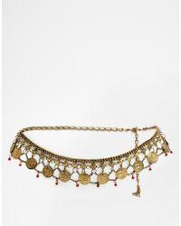 Asos Charm Chain Waist Belt - Lyst