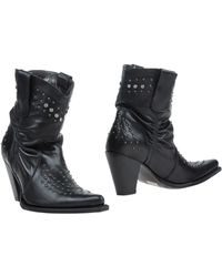 Sendra Ankle Boots - Black